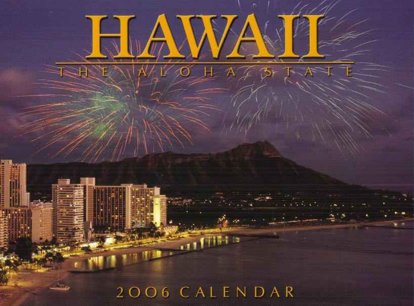 Hawaii The Aloha State 2011Hawaii calendar. Click on the image for a larger view.