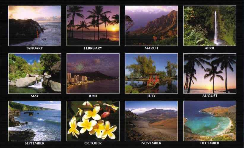 Hawaiian Pictorial Calendar 2011 Hawaiian Calendar