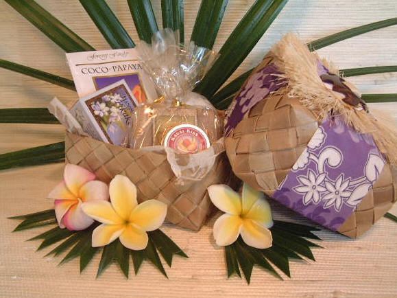 Makana Bath & Body Hawaiian Gift Basket