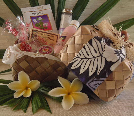 Hawaiian gift baskets flavors of hawaii bath body gift baskets hawaiian soaps bath salts gift basket negle Gallery