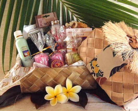 Ultimate Bath Hawaiian Gift Basket